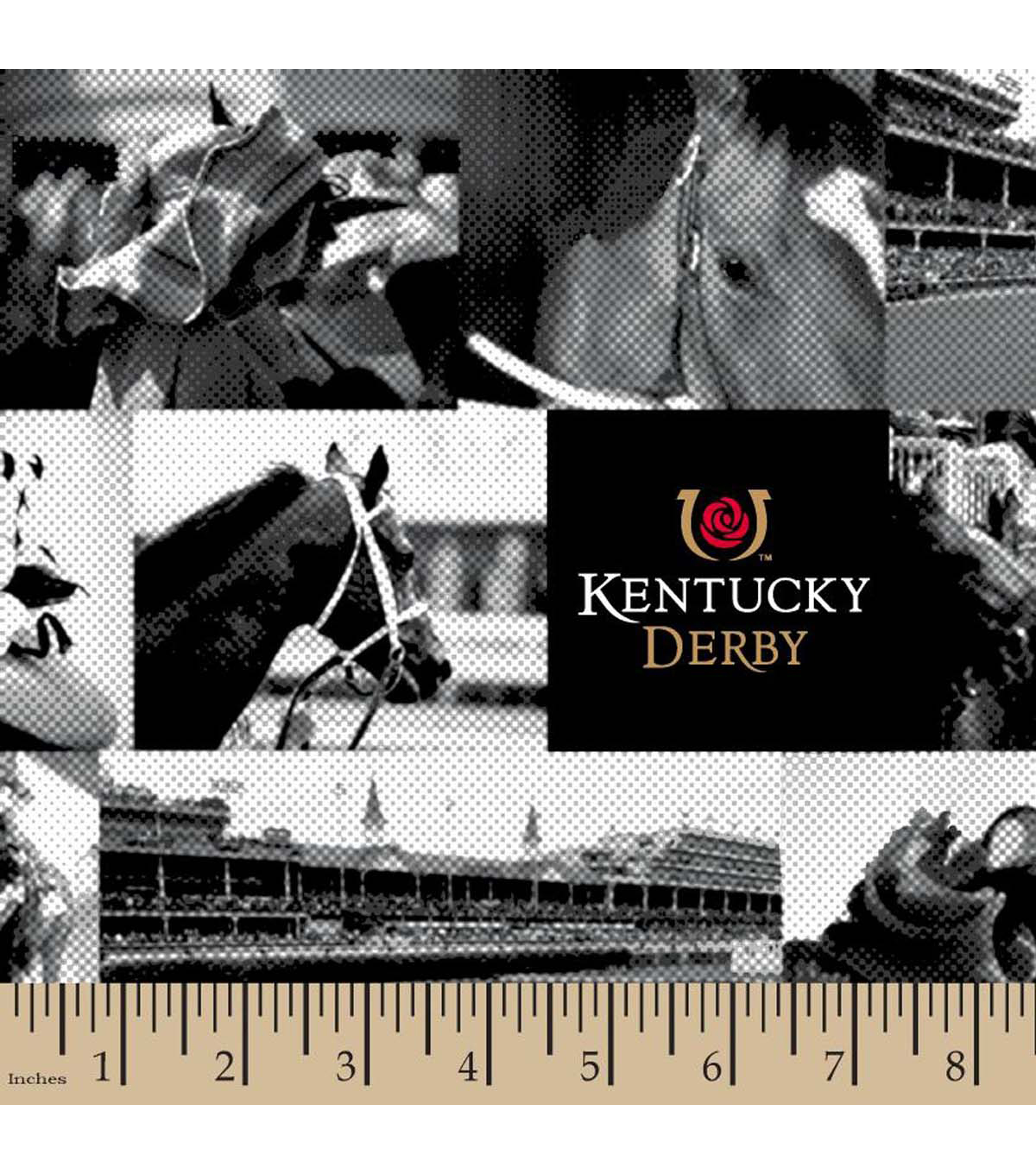 Kentucky Derby A Day At The Races Cotton Fabric