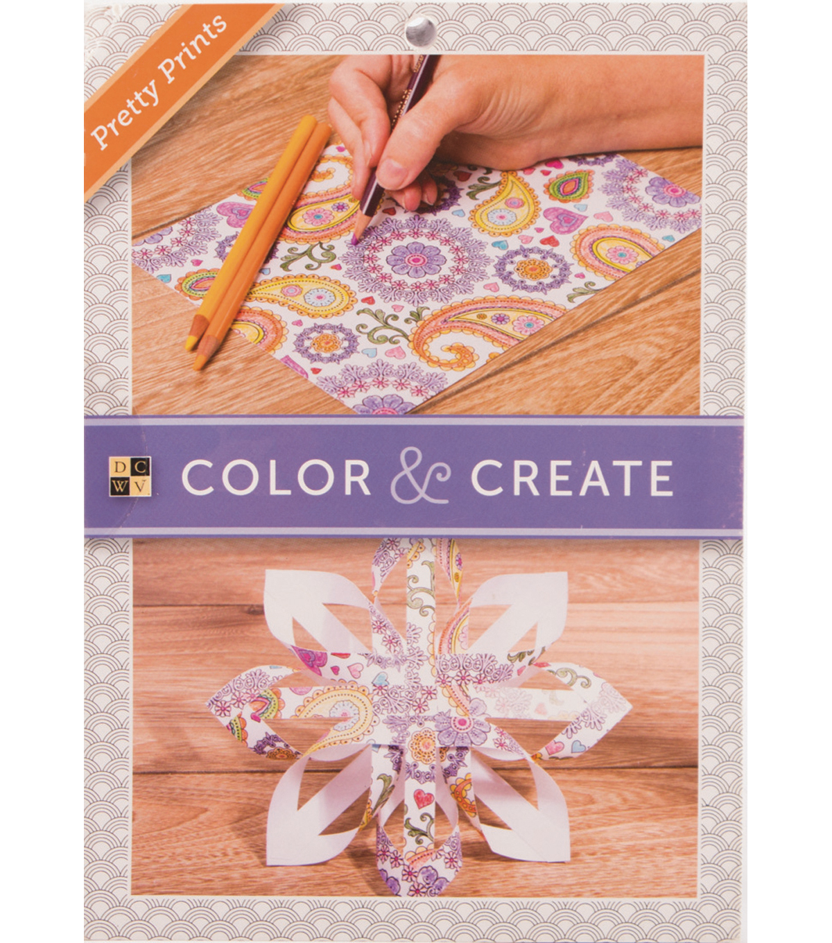 DCWV Color & Create Stack: Pretty Prints
