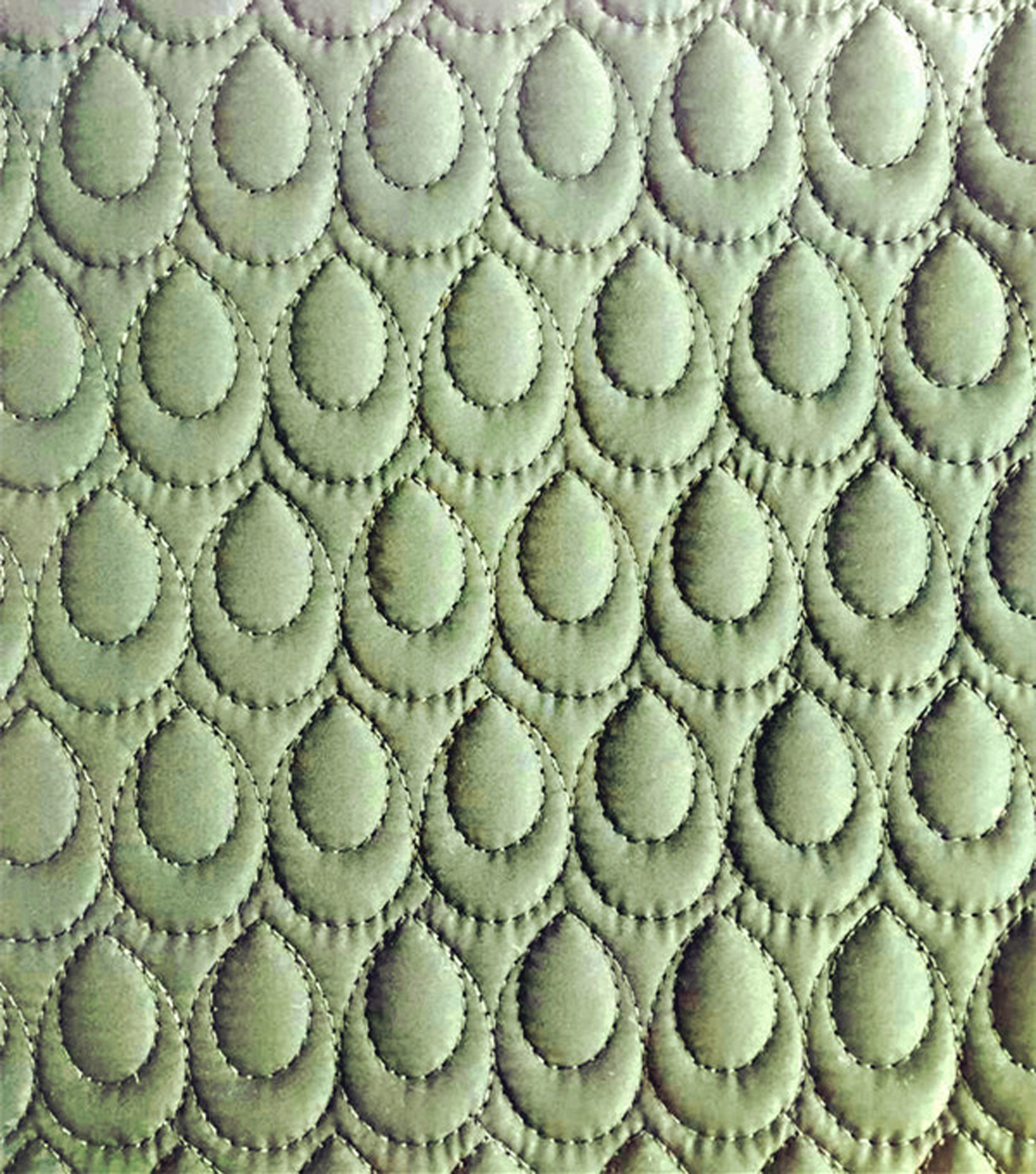 Wandering Spirits - Quilted Teardrop Solid Olive Fabric | JOANN : quilted fabric - Adamdwight.com