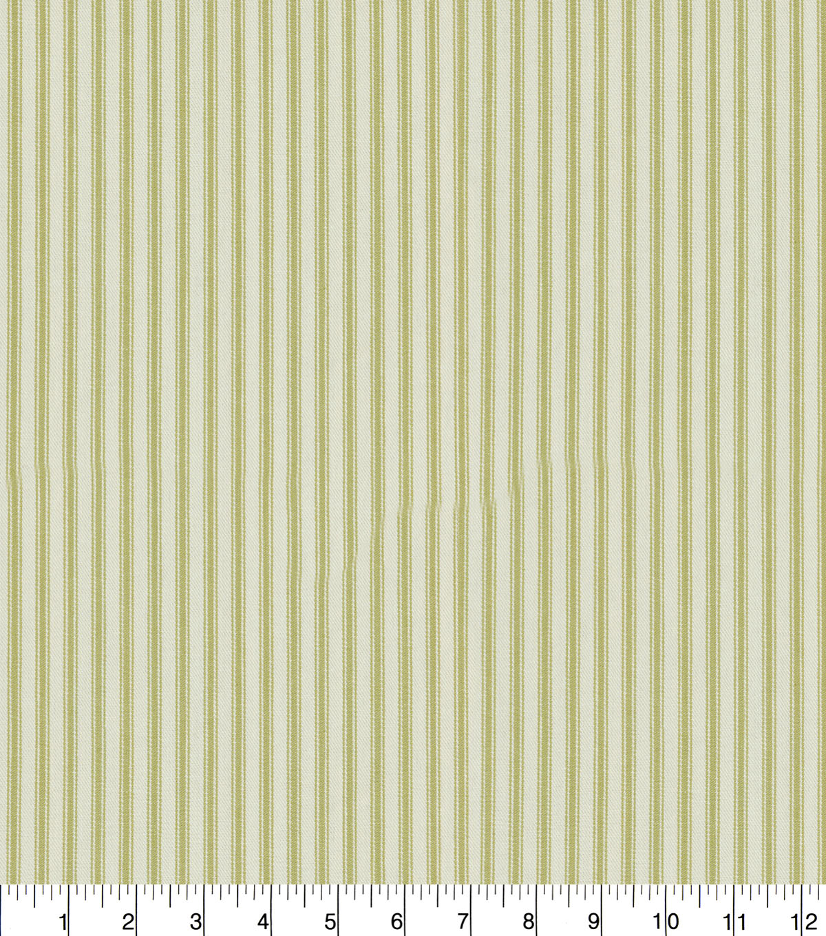 Waverly® Upholstery Fabric 55''-Sage Classic Ticking