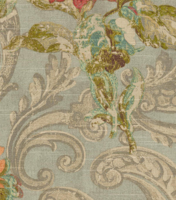 Waverly Upholstery Fabric 54\u0027\u0027-Jewel Fresco Flourish