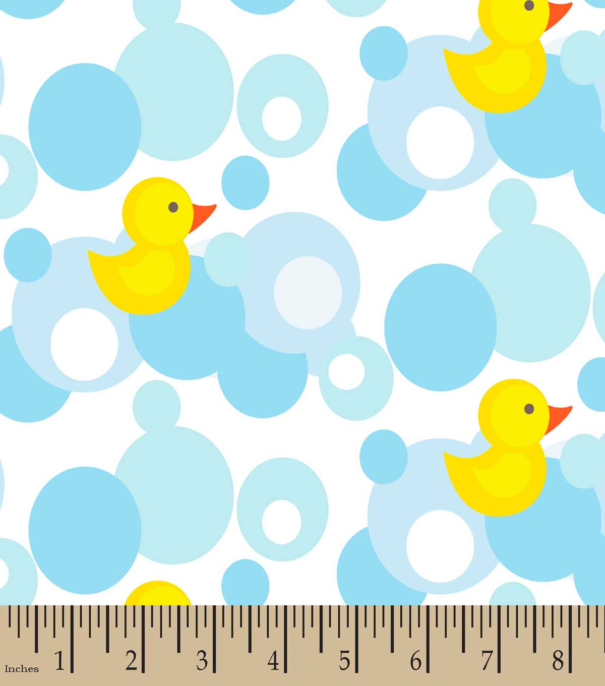 Rubber Ducky Print Fabric