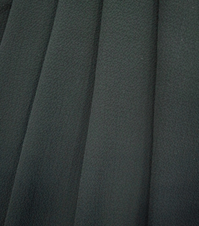 "Simply Silky Solid Bubble Chiffon Fabric 57""-Black"