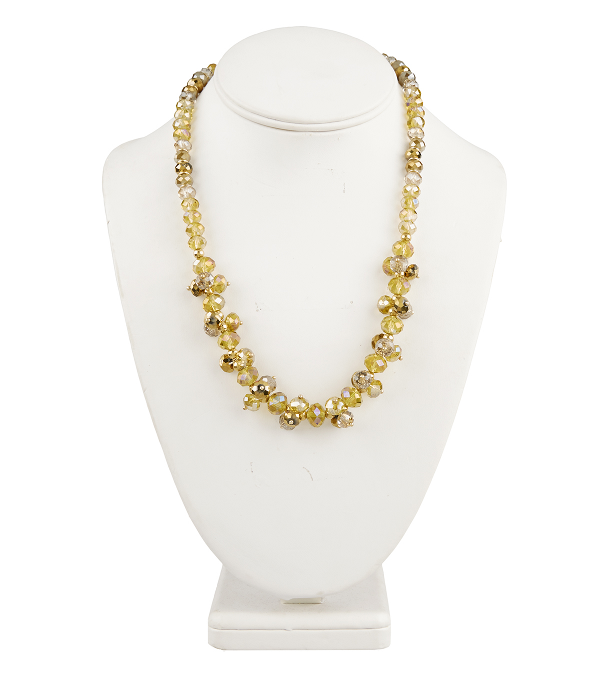 Short Cluster Necklace Champagne