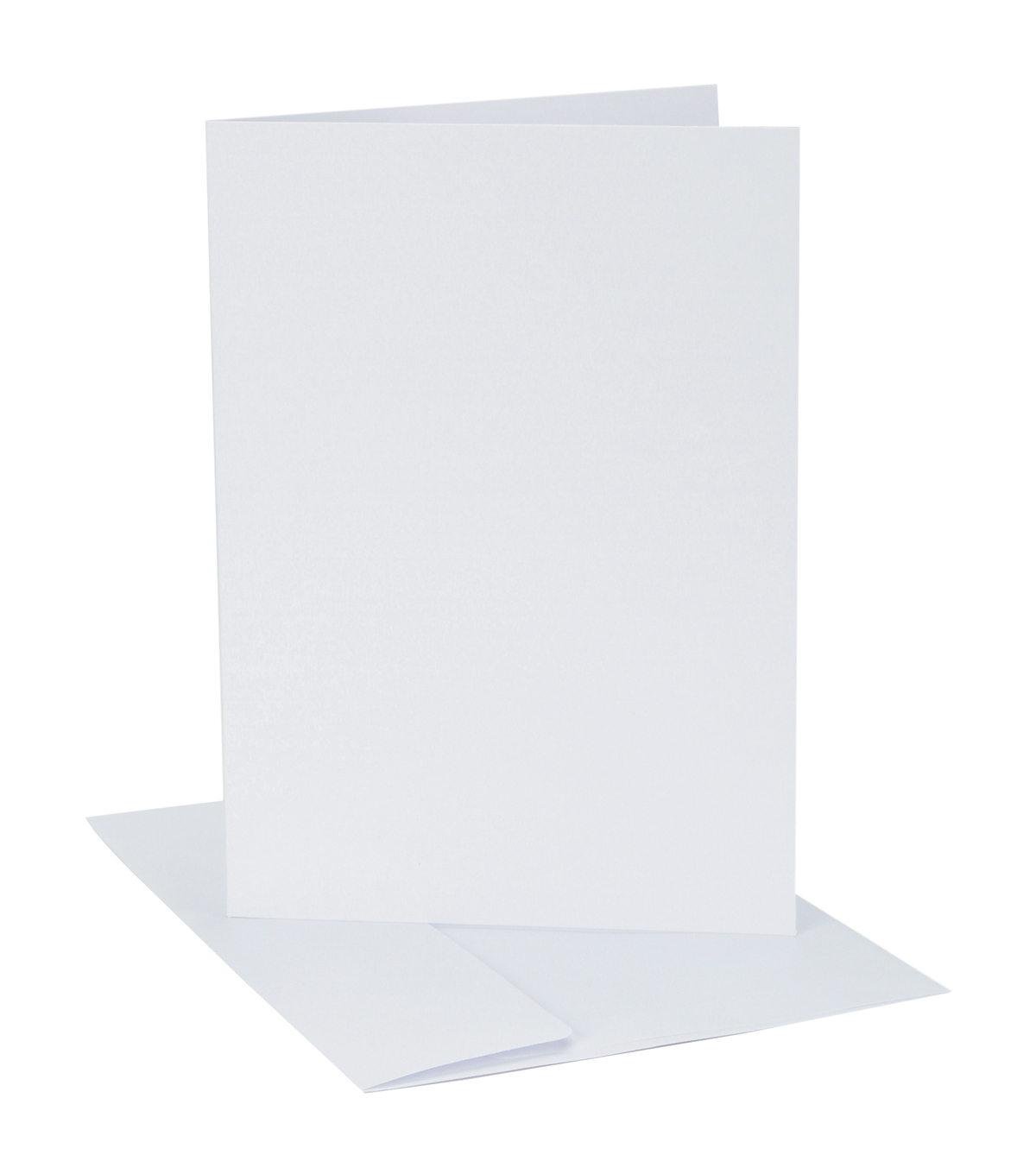 Core'dinations Card/Envelopes:  A7 White; 12 pack