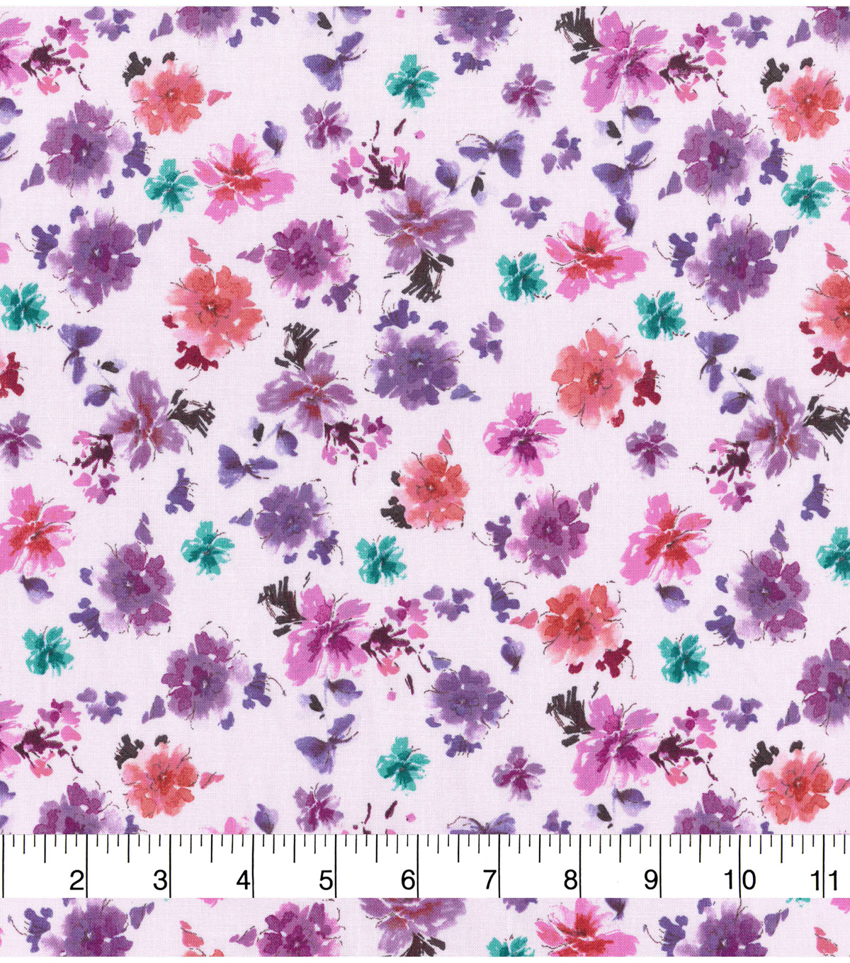 Keepsake Calico™ Cotton Fabric 43\u0022-Watercolor Small Floral
