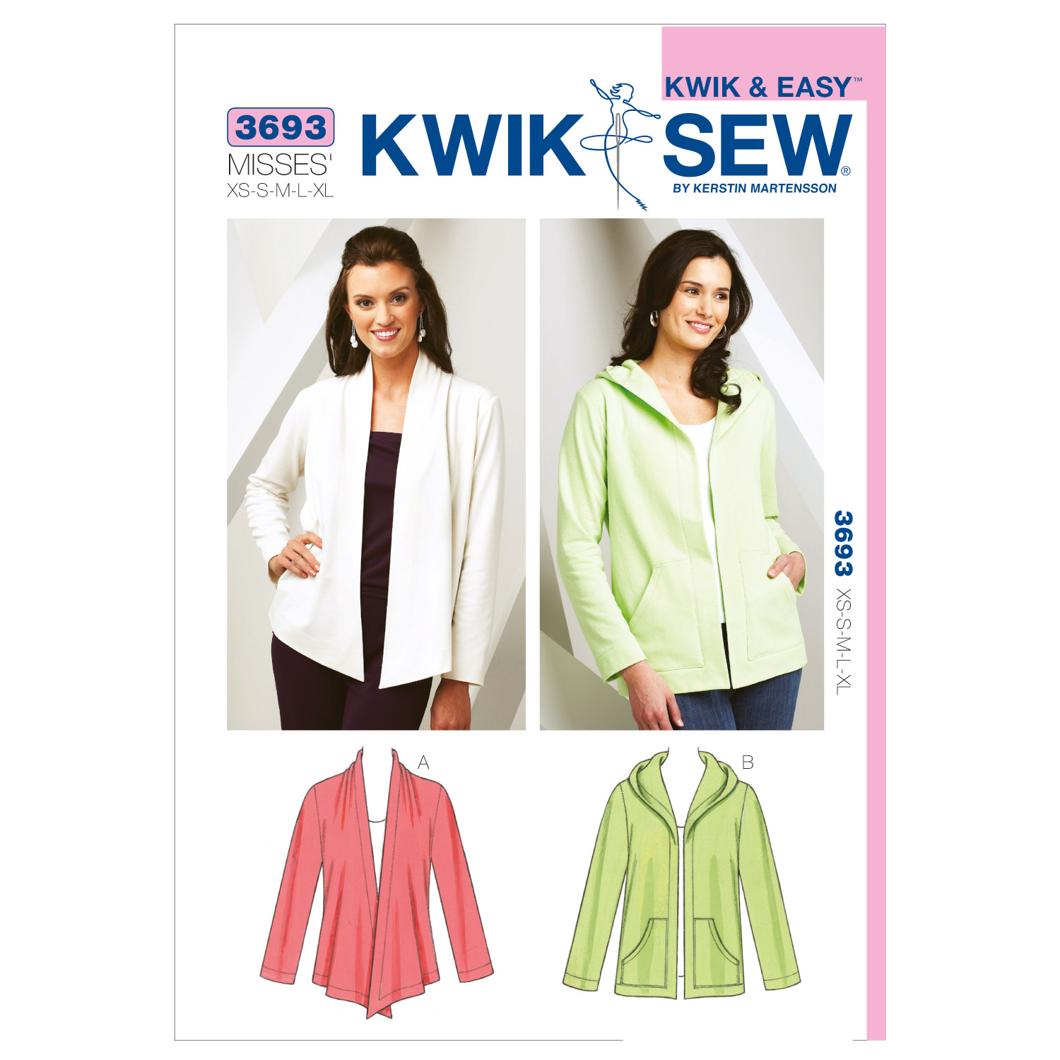 Kwik Sew Misses Jacket-K3693