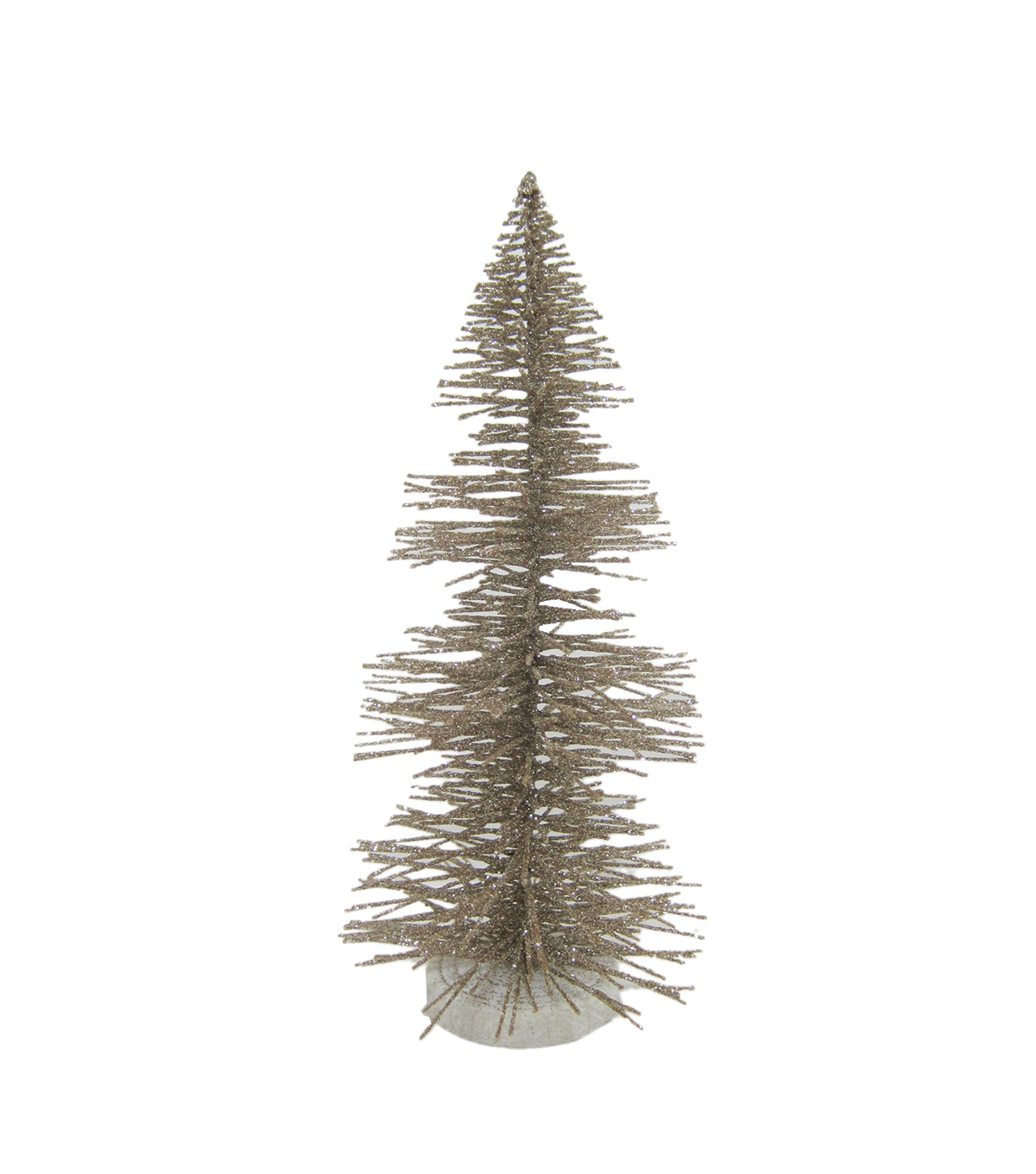 Maker\u0027s Holiday Christmas Littles Large Plastic Sisal Tree-Champagne