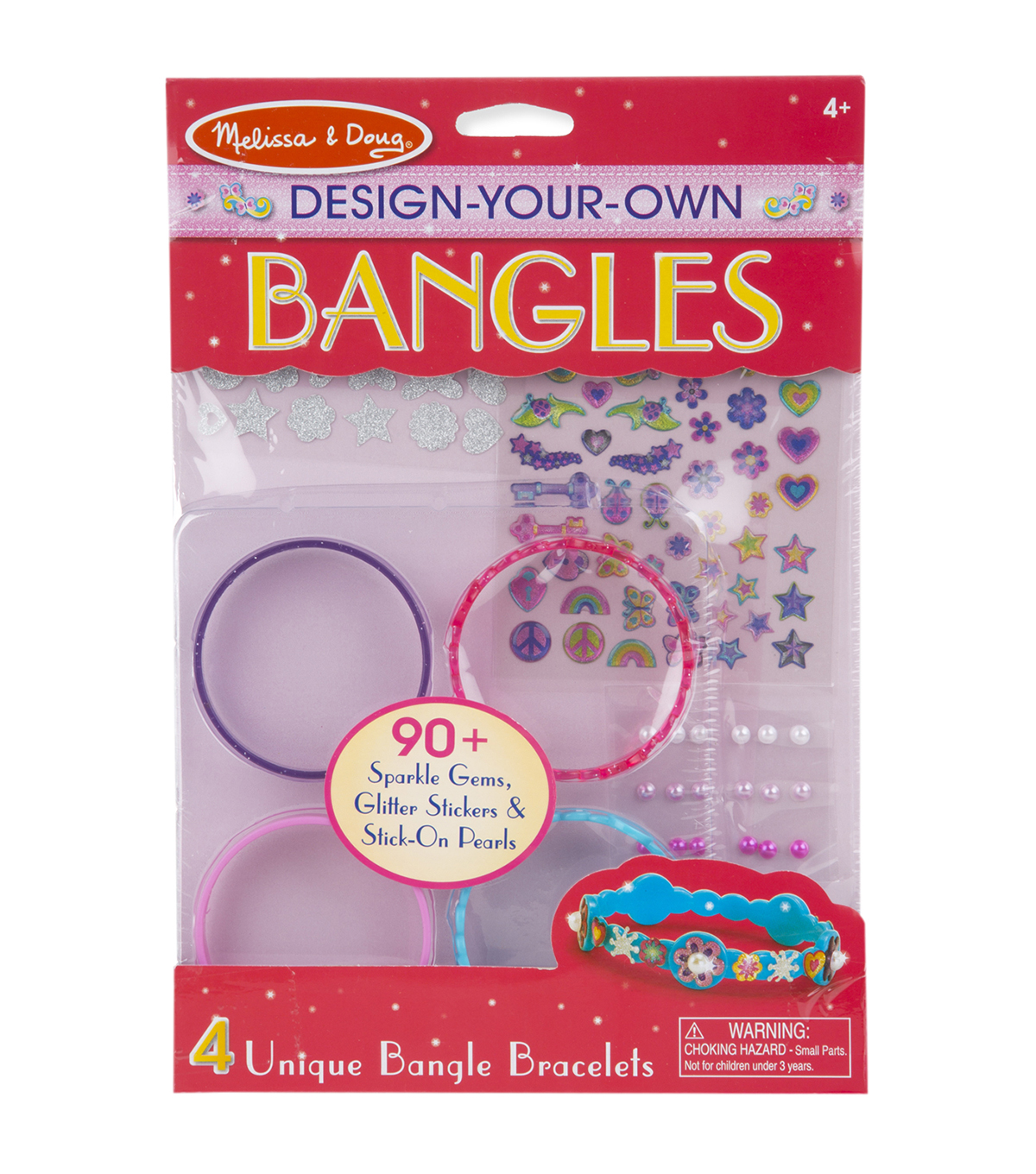 Melissa & Doug Design-Your-Own Jewelry Kit-Bangles