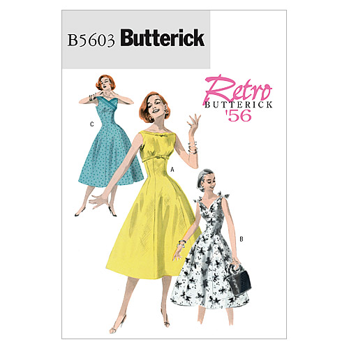 Butterick Misses Dress-B5603