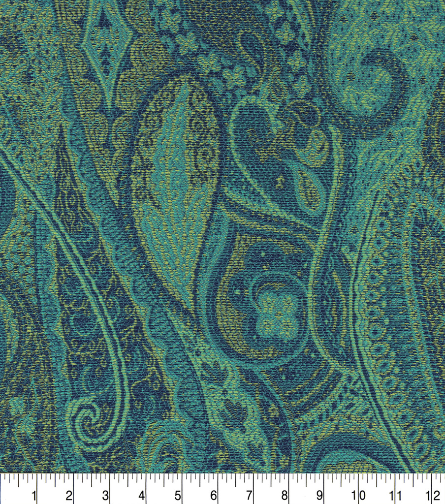 Optimum Performance Acrylic Fabric 54\u0027\u0027-Aegean Paisley