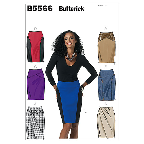 Butterick Misses Skirt-B5566