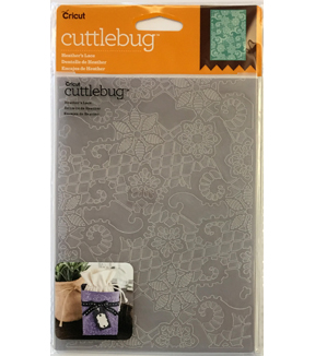 Cricut Cuttlebug Heather's Lace 5x7 Embossing Folder