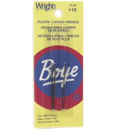 Plastic Canvas Needles Size #18