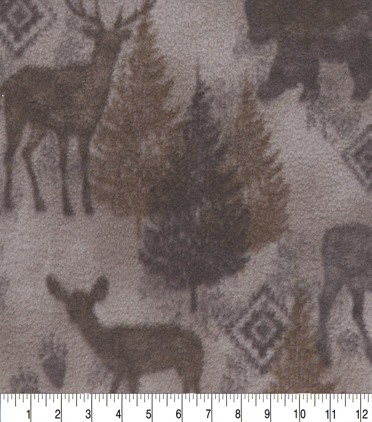 Anti-Pill Fleece Fabric 59\u0022-Moose Brown