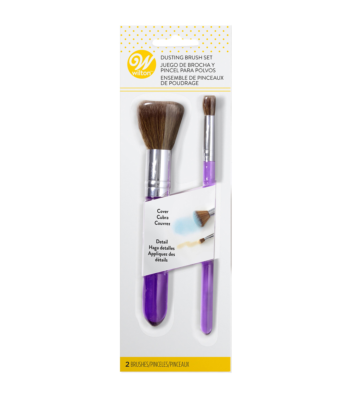 Wilton® Dusting Brush 2pc Set
