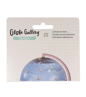 American Crafts™ One Canoe Two 3D Embellishment-Stars