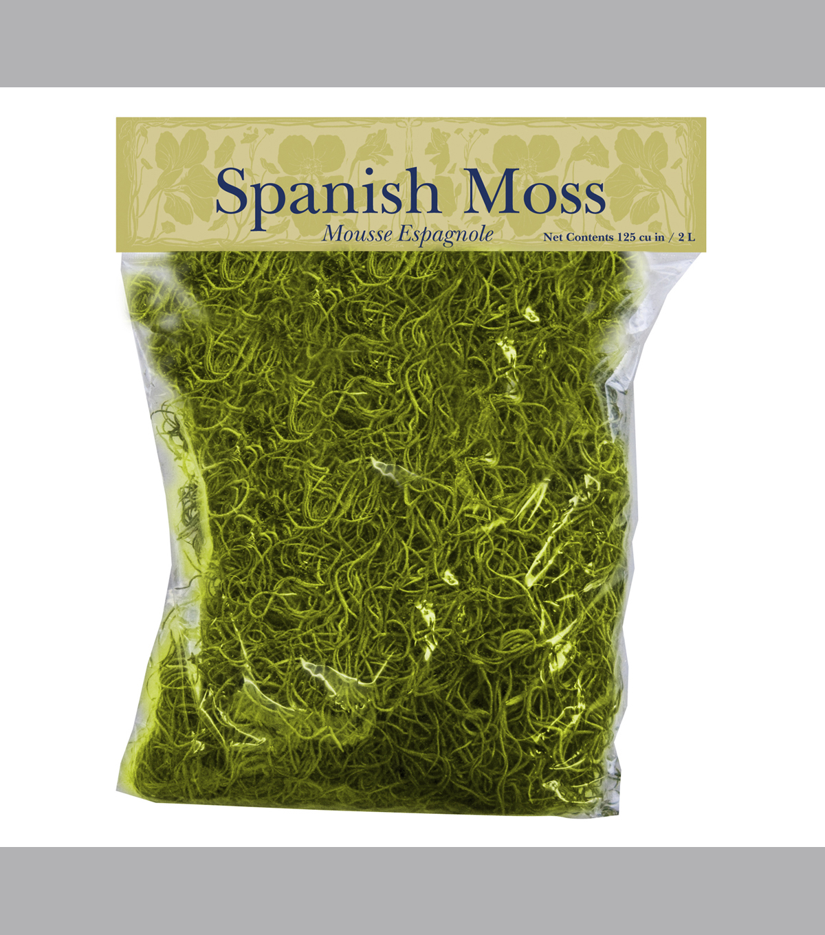 Panacea Products Chartreuse Spanish Moss-125 cu in