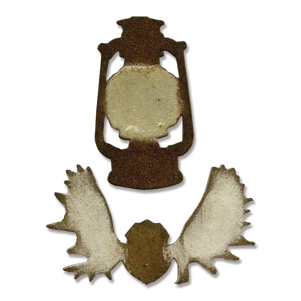 Sizzix Movers & Shapers Magnetic Dies Mini Lantern & Antlers