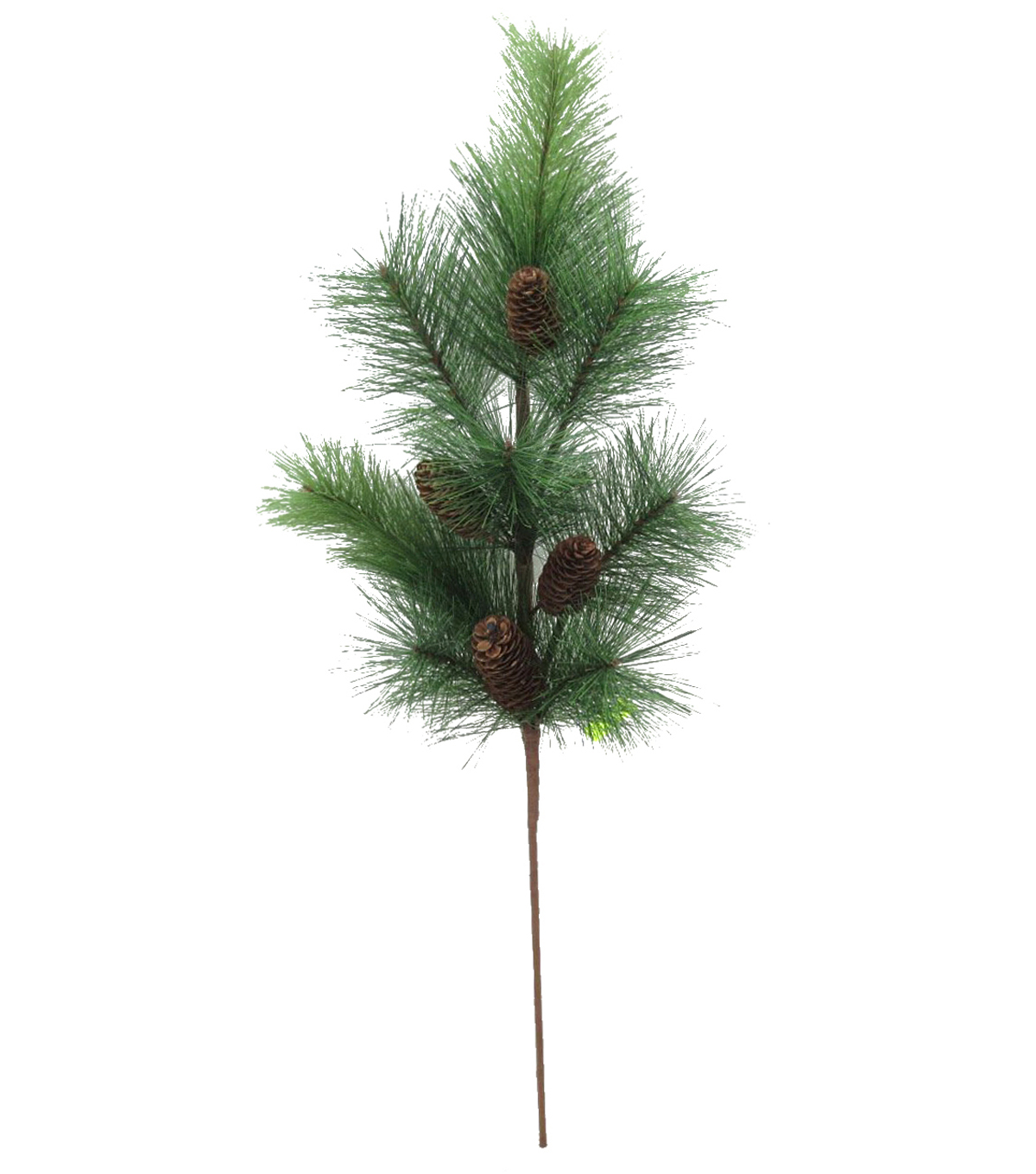 Blooming Holiday Pine & Pinecone Spray-Green