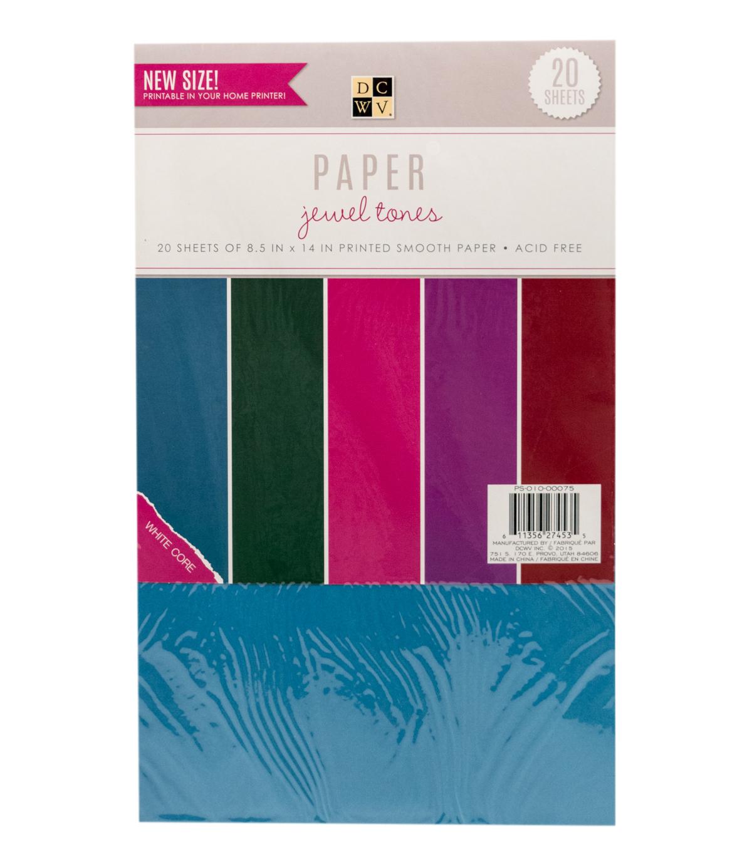 Design Jewel Tones dcwv 8 12x14 jewel tones paper pack joann 12u0022x14u0022 pack