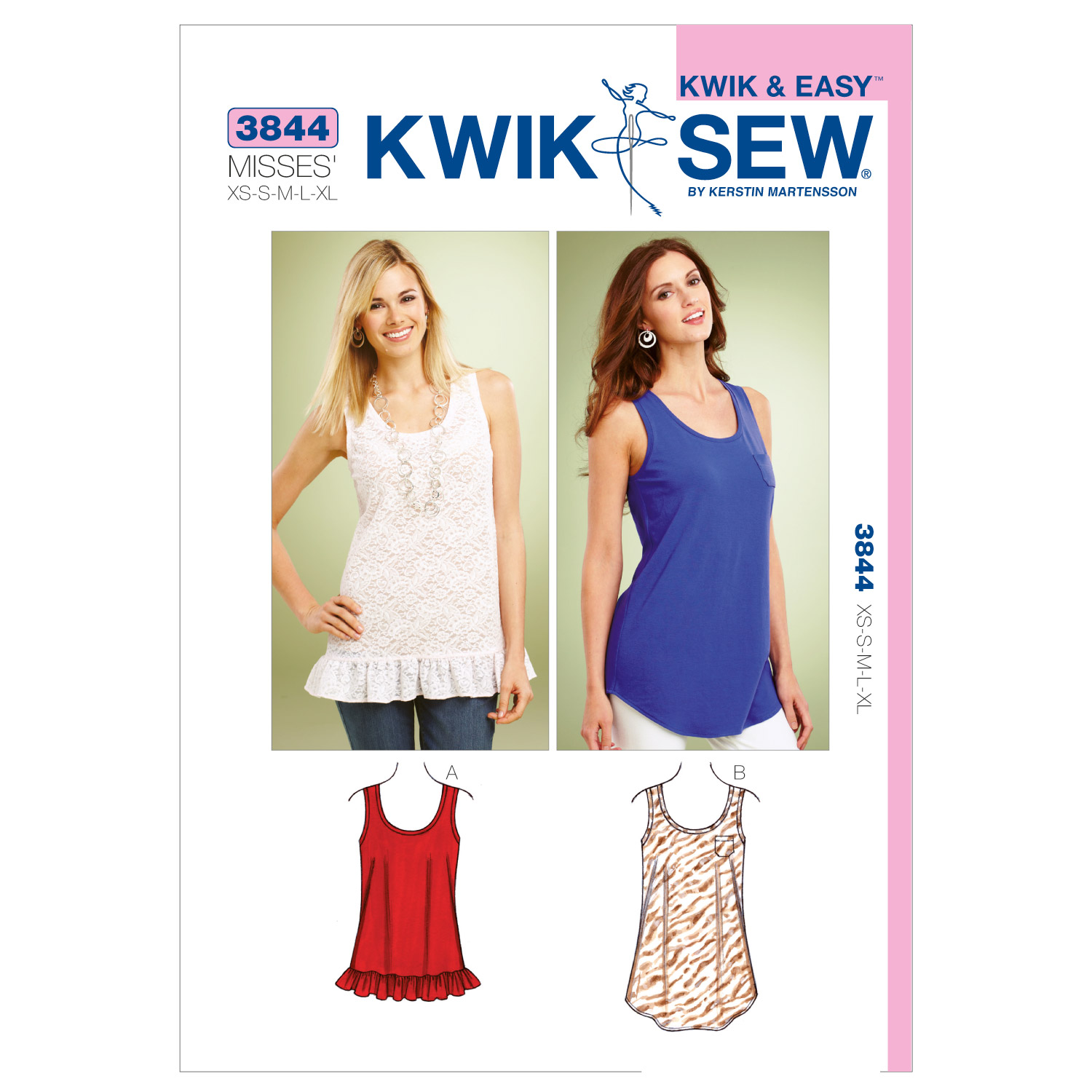 Kwik Sew Misses Top-K3844