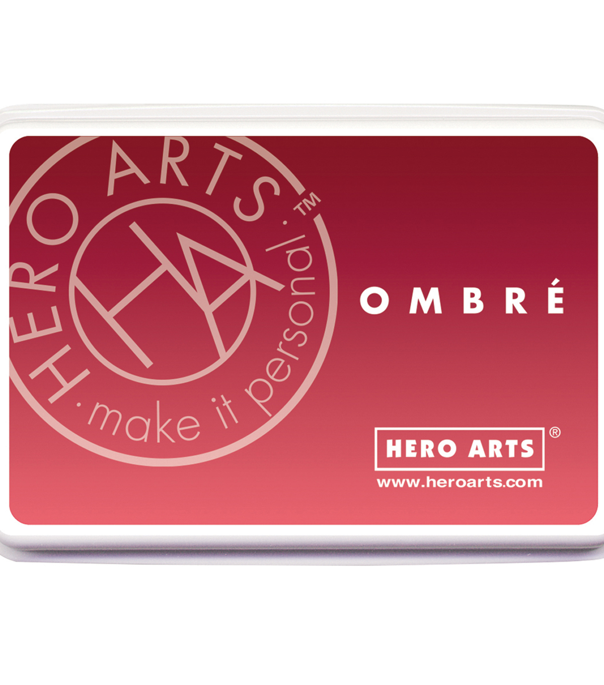Hero Arts Ombre Ink Pad-Light To Red Royal