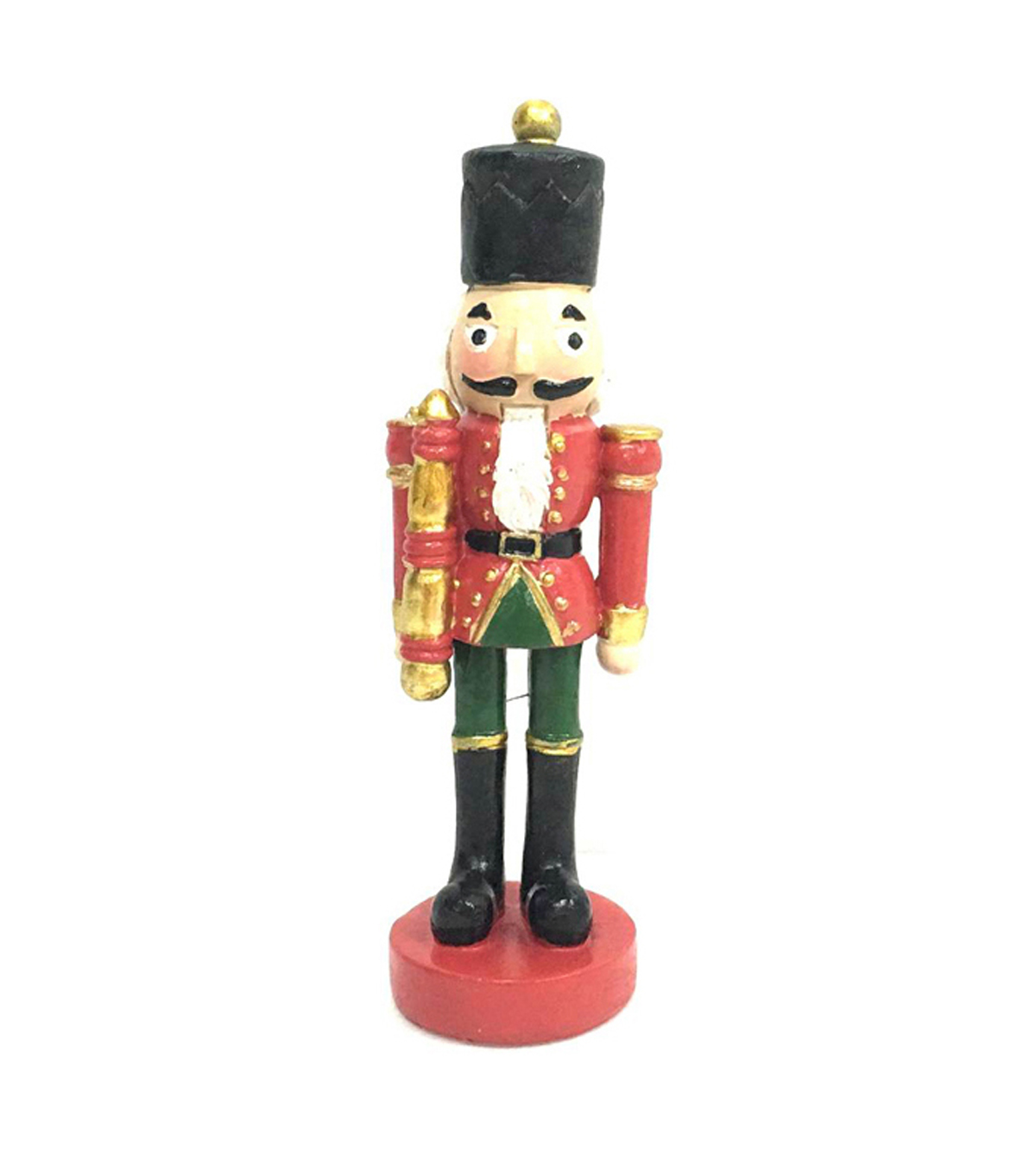 Maker's Holiday Littles Resin Nutcracker Figurine