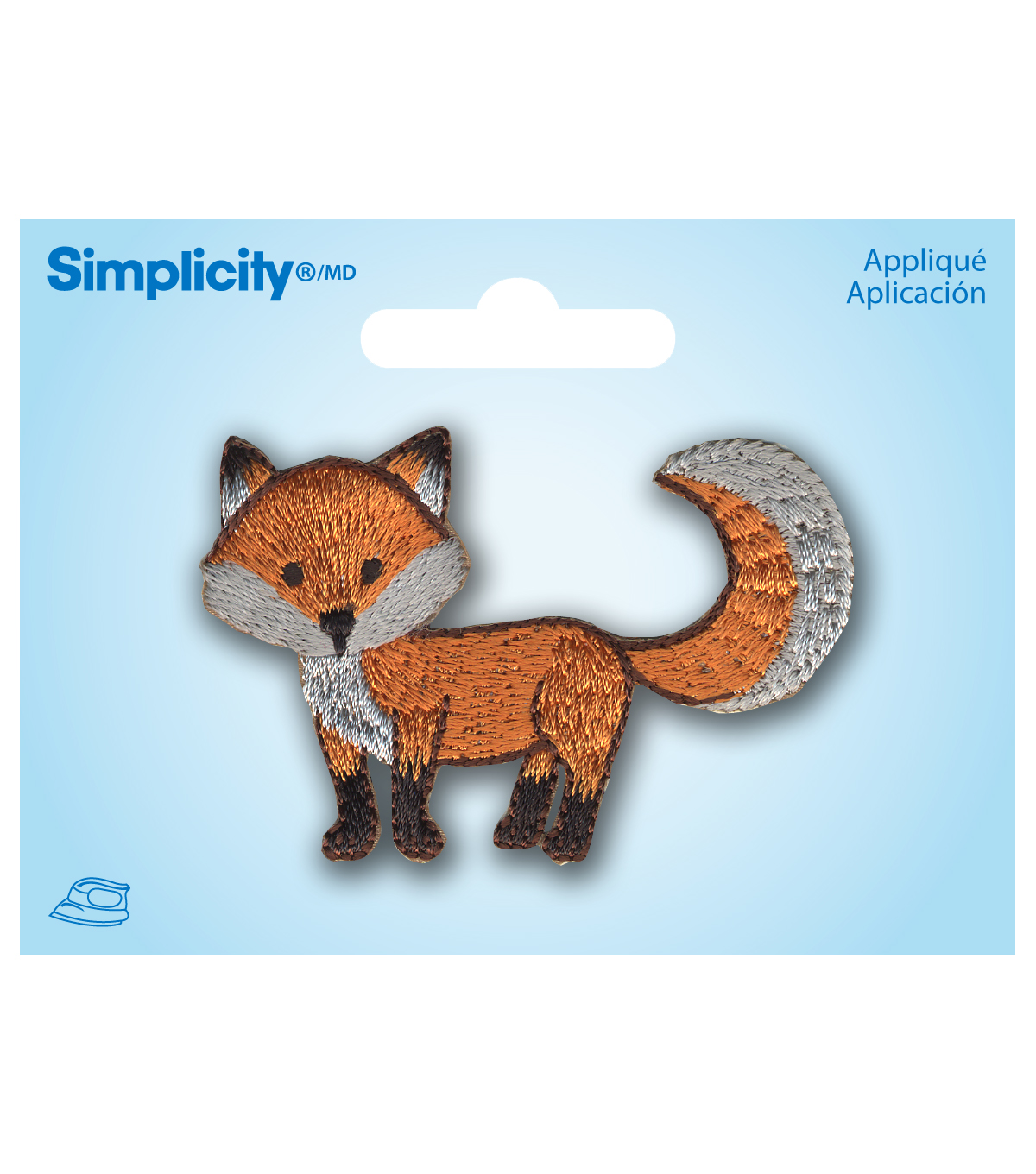 Cartoon Fox Applique