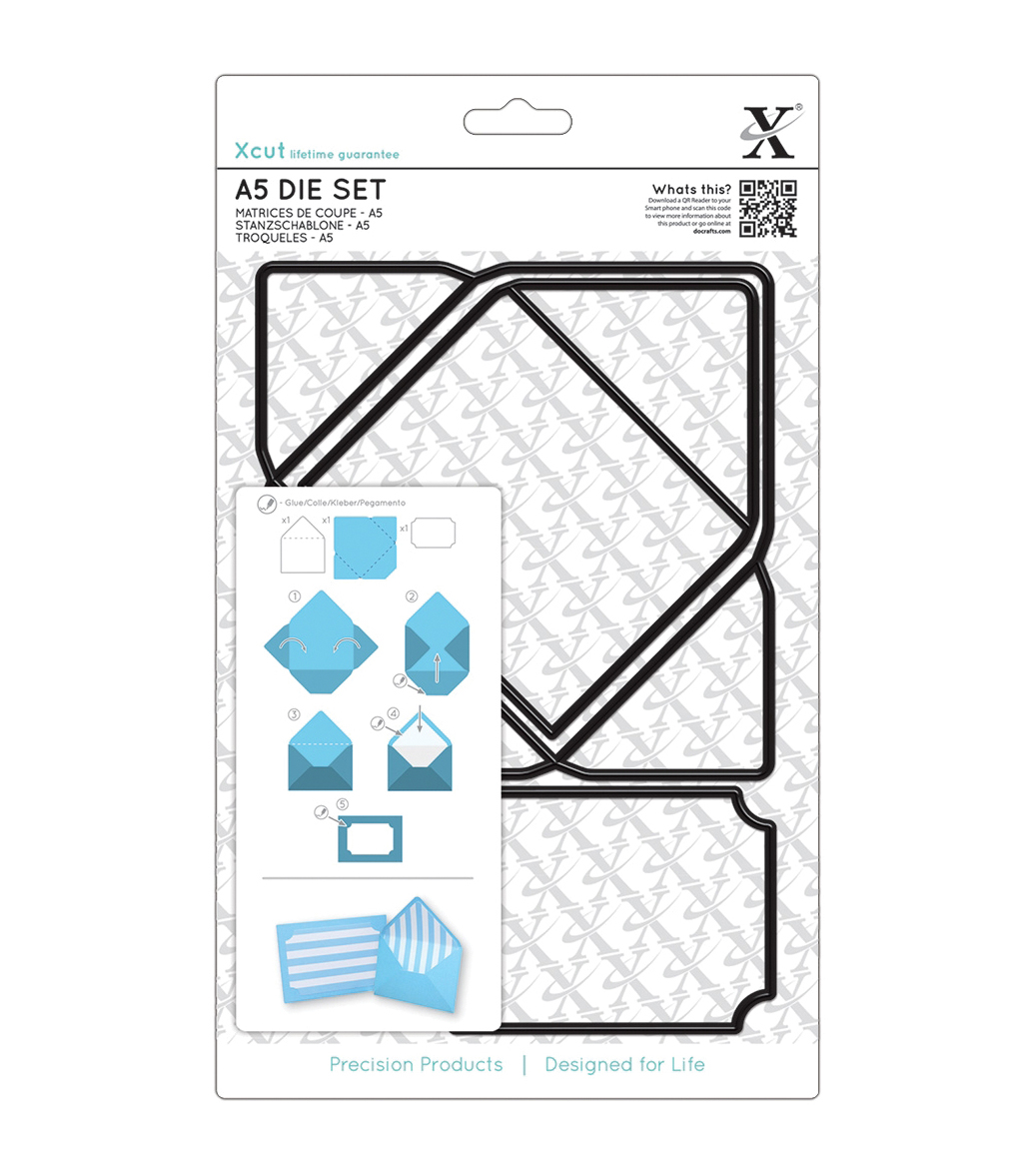 Docrafts Xcut A5 A7 Envelope Die Set