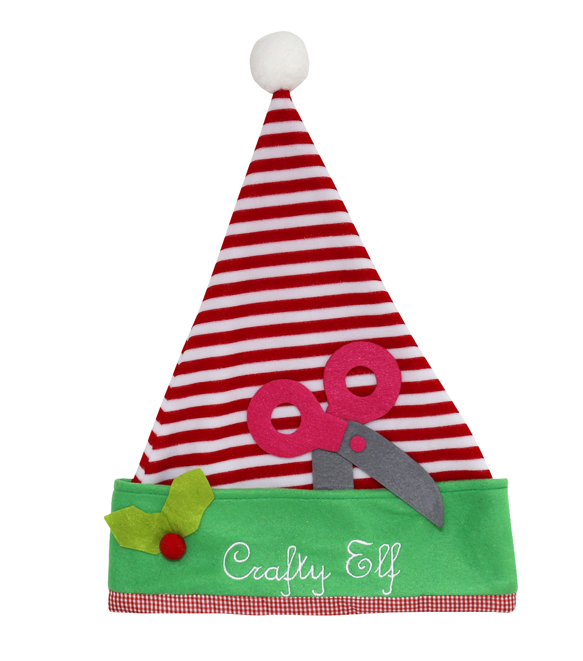 Maker\u0027s Holiday Santa Hat-Crafty Elf