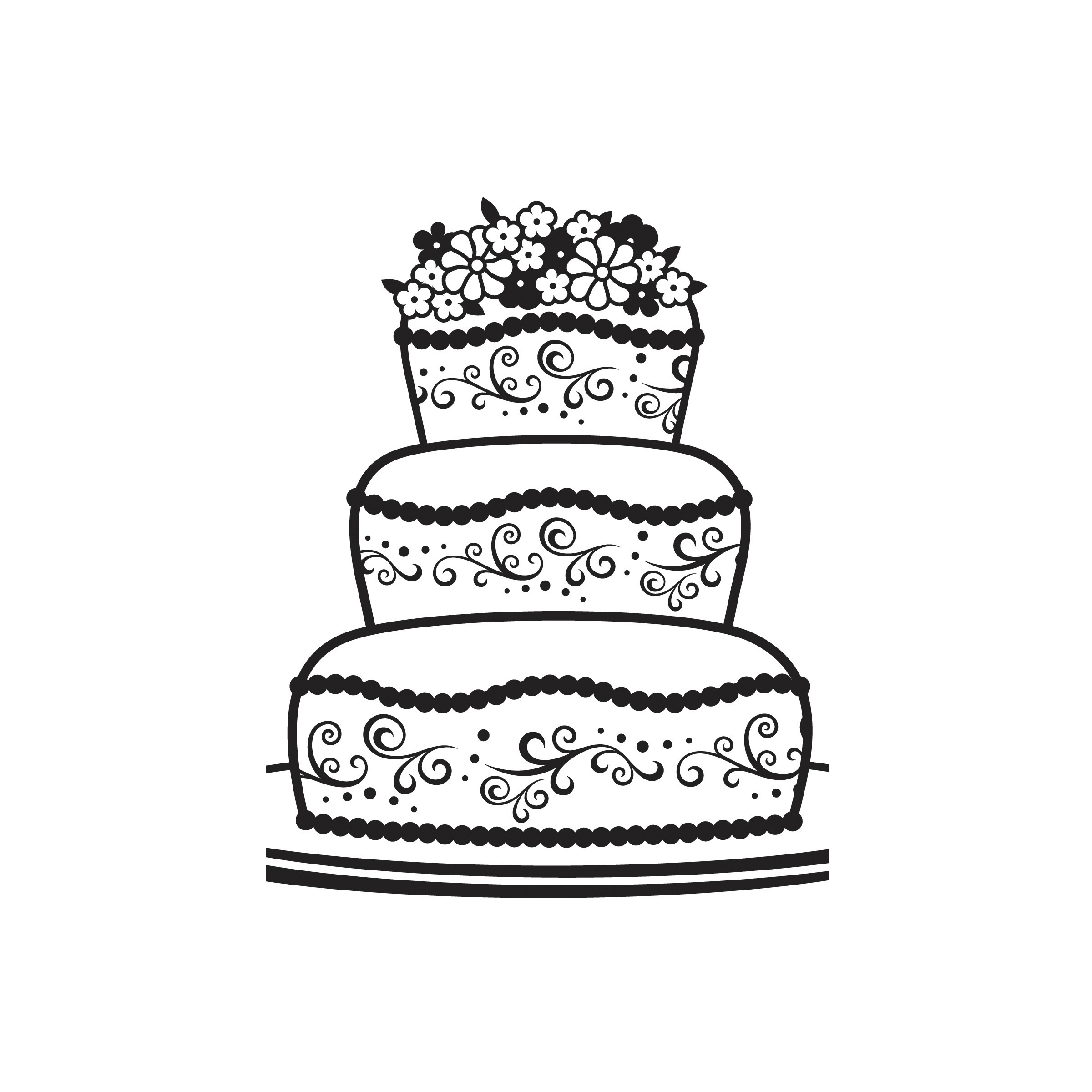 Darice® Embossing Folder - Fancy Cake, 4-1/2 x 5-3/4 inches