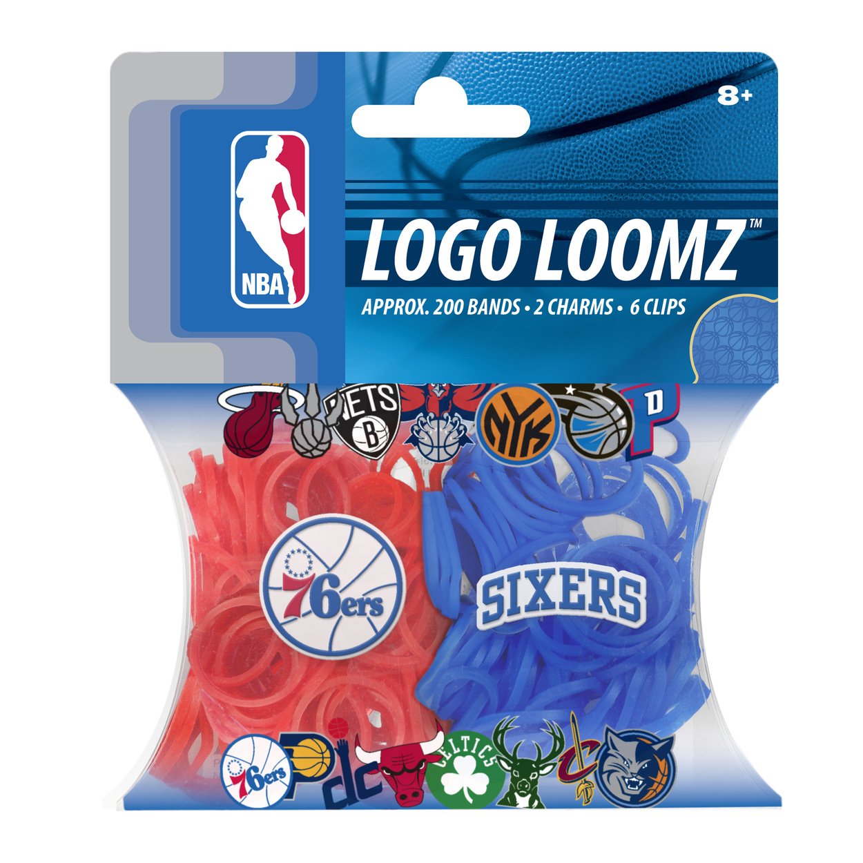 Philadelphia 76ers Logo Loomz Filler Pack by Forever Collectibles