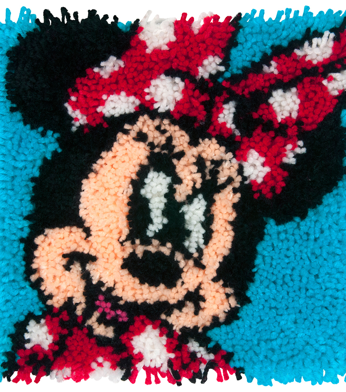 Disney Latch Hook Kit 12\u0022X12\u0022-Minnie Mouse