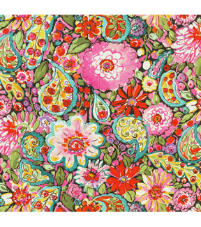 Dena Home Print Fabric 54\u0022-Sweet Summer/Licorice