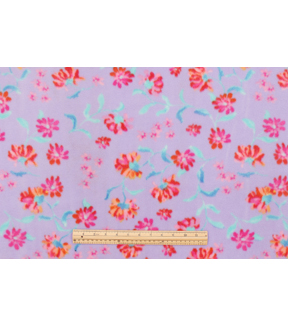 Anti-Pill Fleece Fabric 59\u0022-Enjoy The Little Things Floral