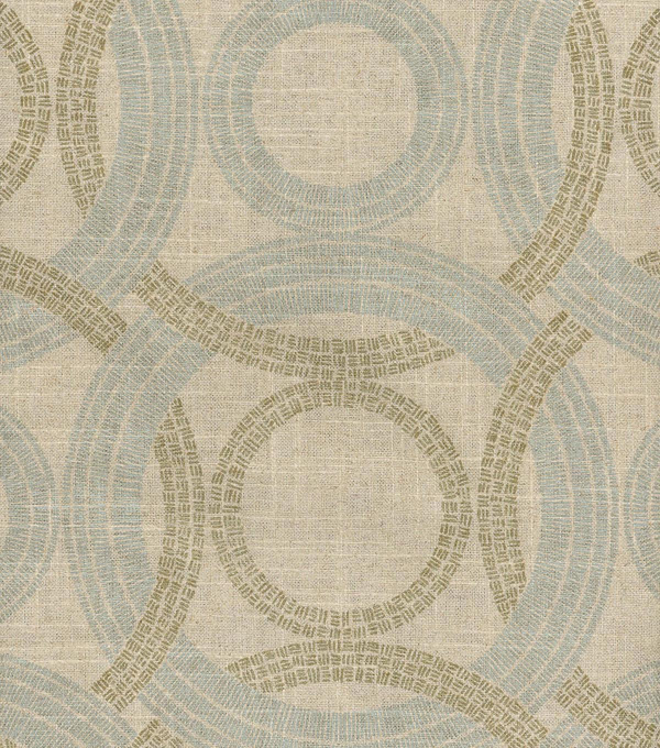 Waverly Upholstery Fabric 54\u0022-Radiant Rings/Vermeil