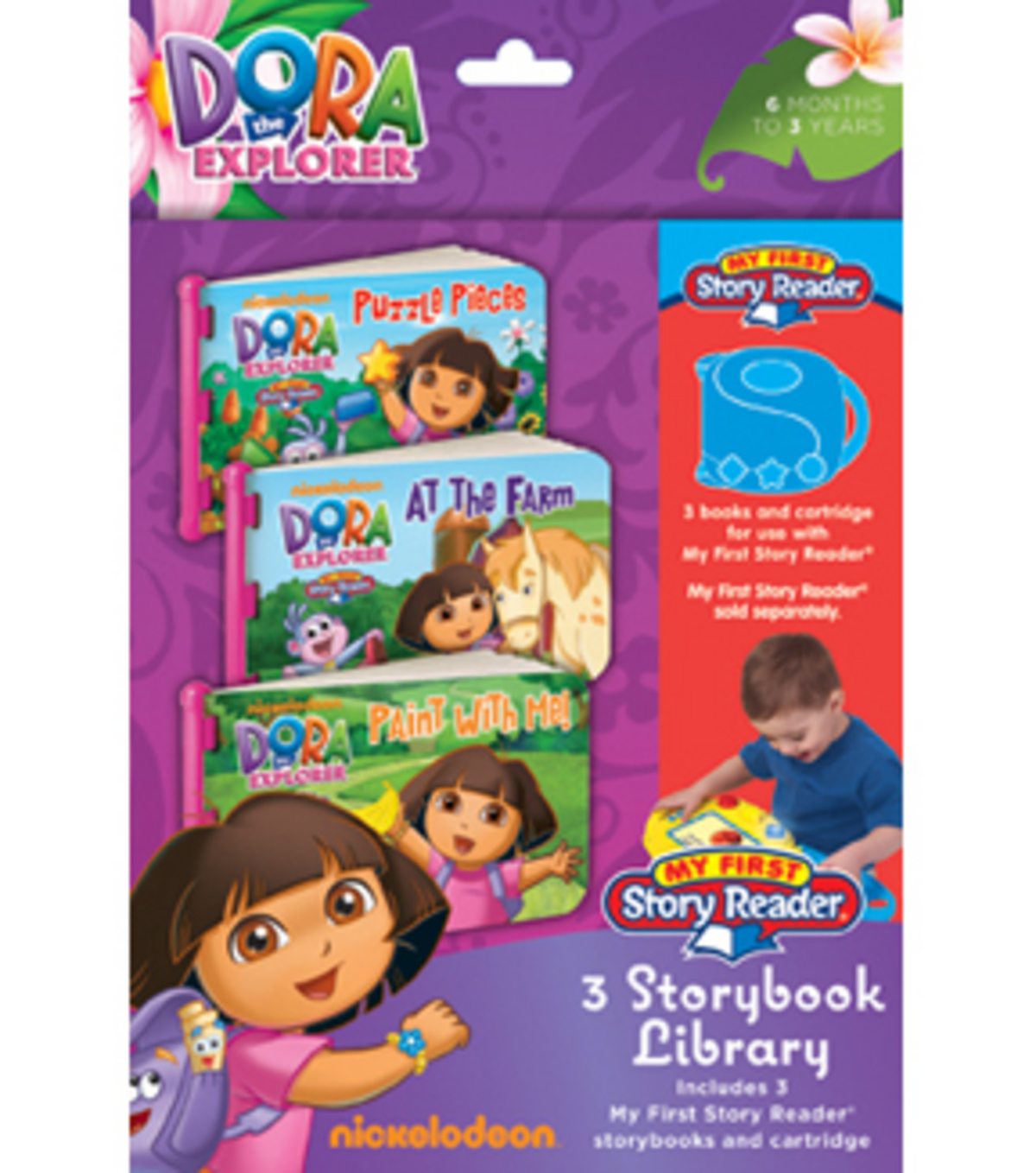 My First Story Reader 3-Storybook Library-Dora The Explorer