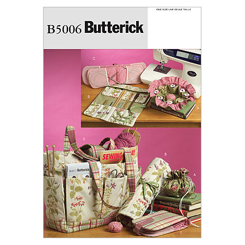 Butterick Pattern B5006 Crafts Totes & Bags