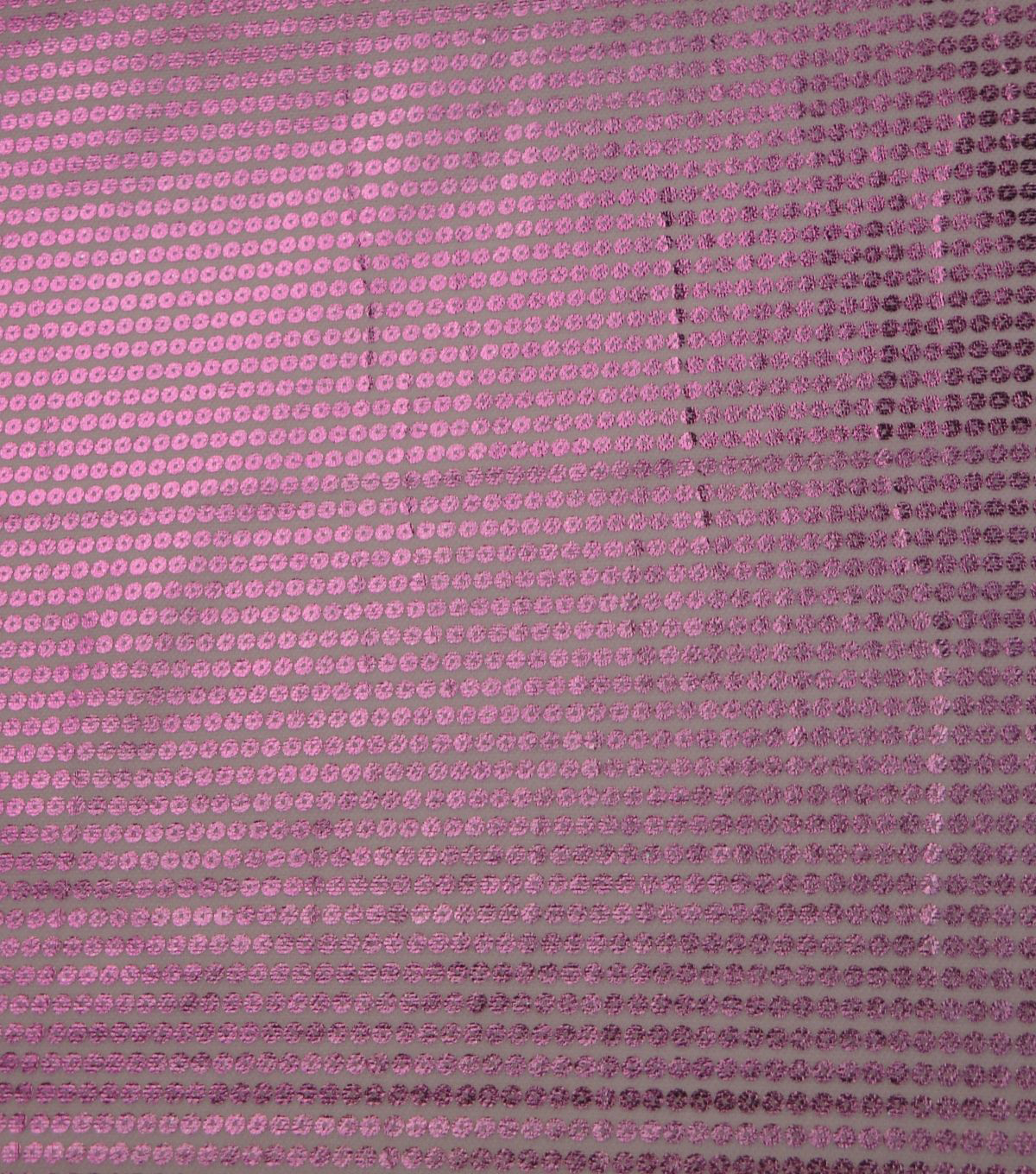 Glitterbug Foiled Sequin Stretch Fabric Fabric-Light Pink