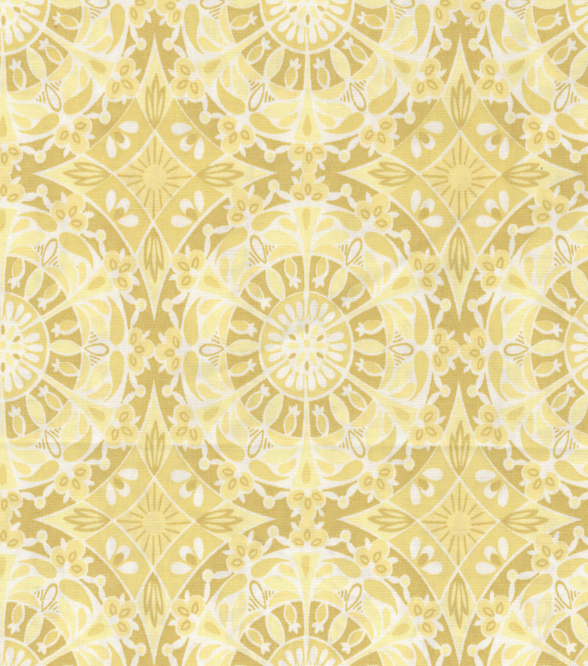 Keepsake Calico™ Cotton Fabric 44\u0022-Cenatory Lemon