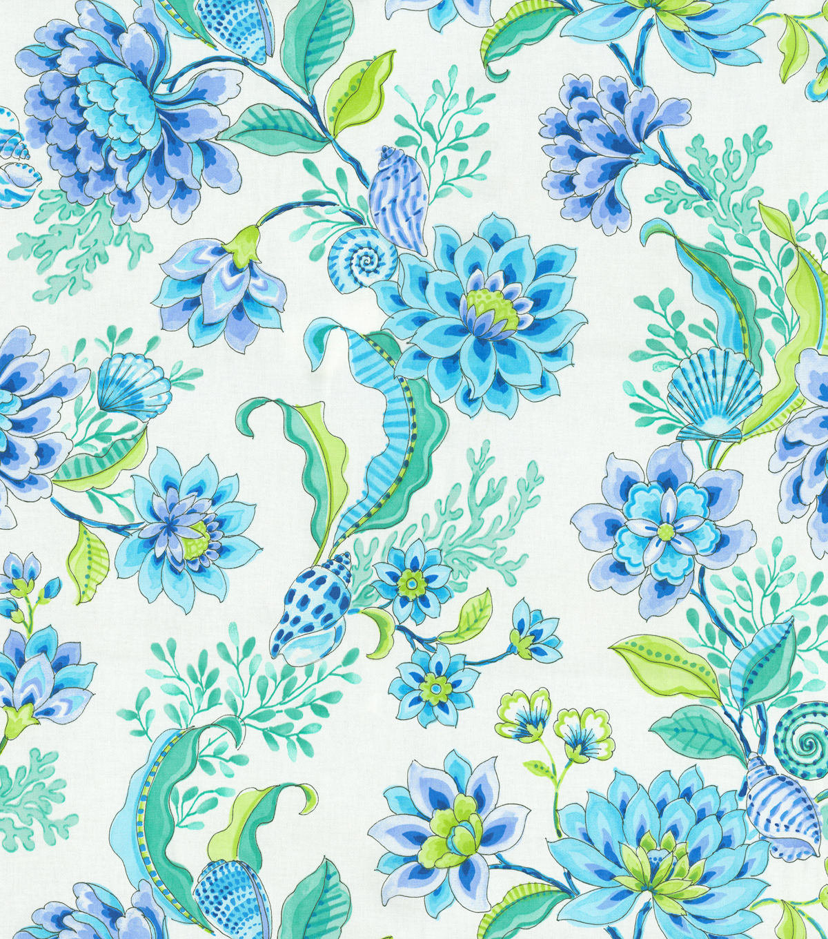 Home Decor 8\u0022x8\u0022 Fabric Swatch-Laurette Design Diver\u0027s Paradise Bliss