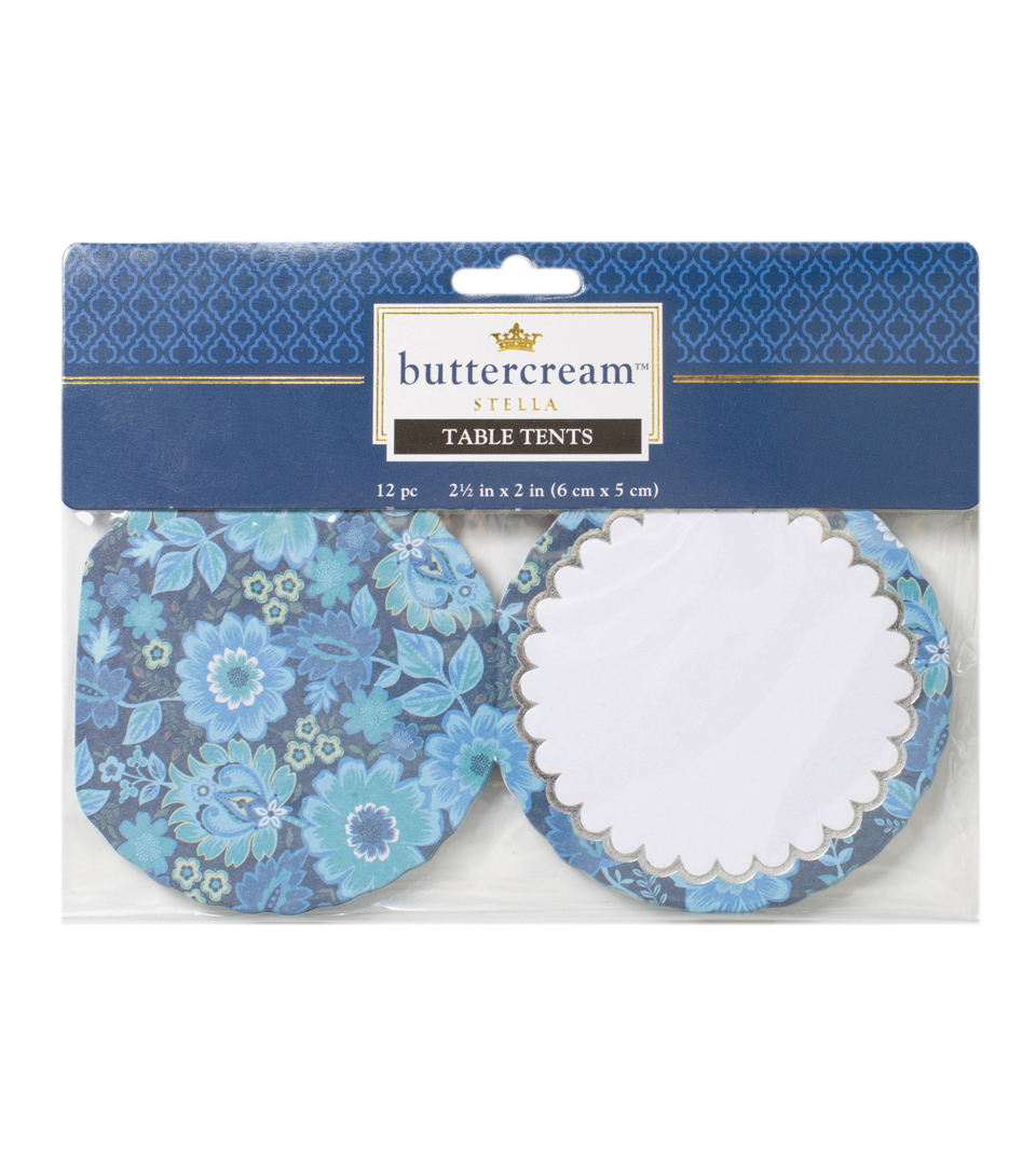 Buttercream™ Stella Collection Designer Table Tents
