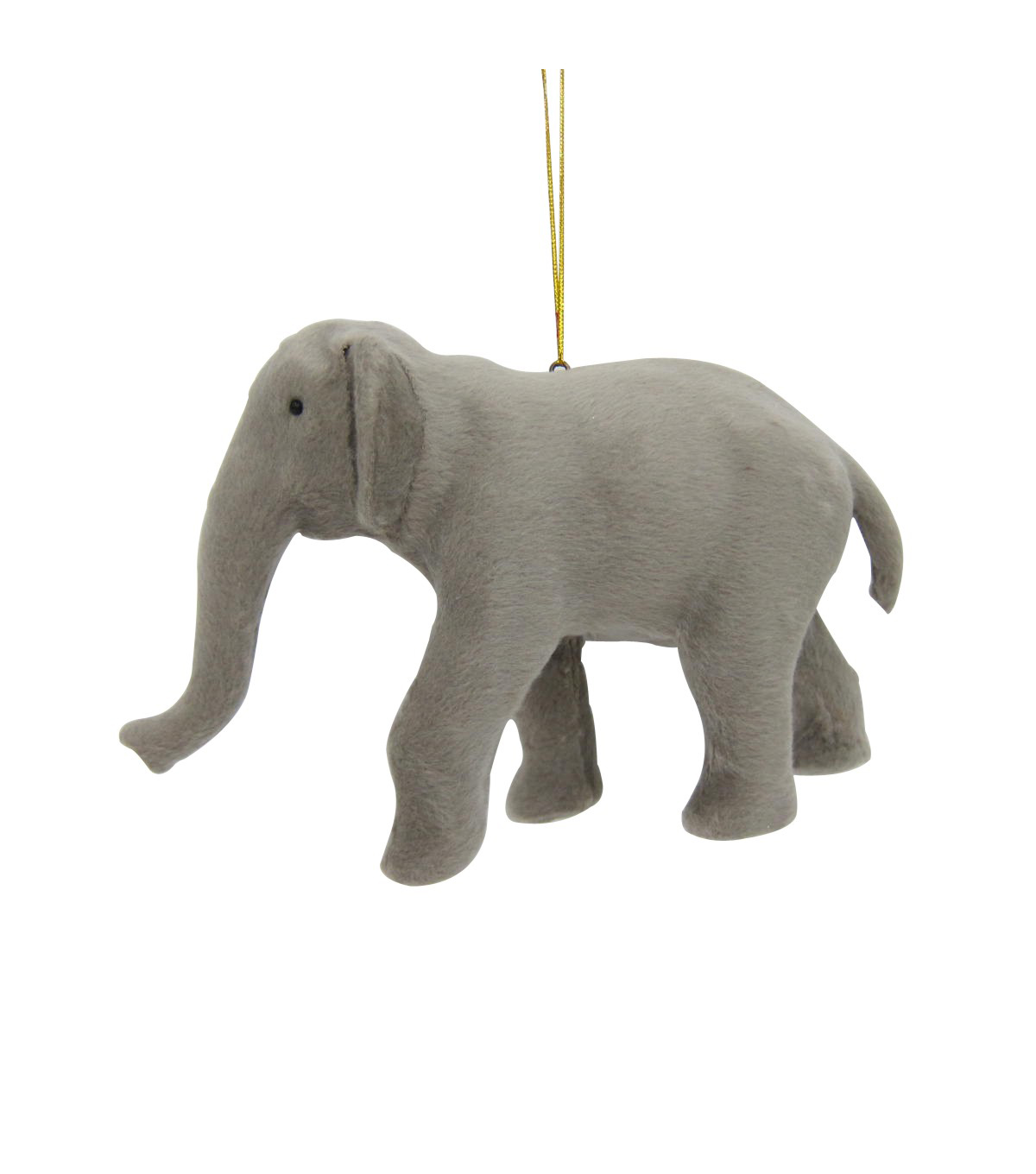 Maker\u0027s Holiday Christmas Fur Elephant Ornament