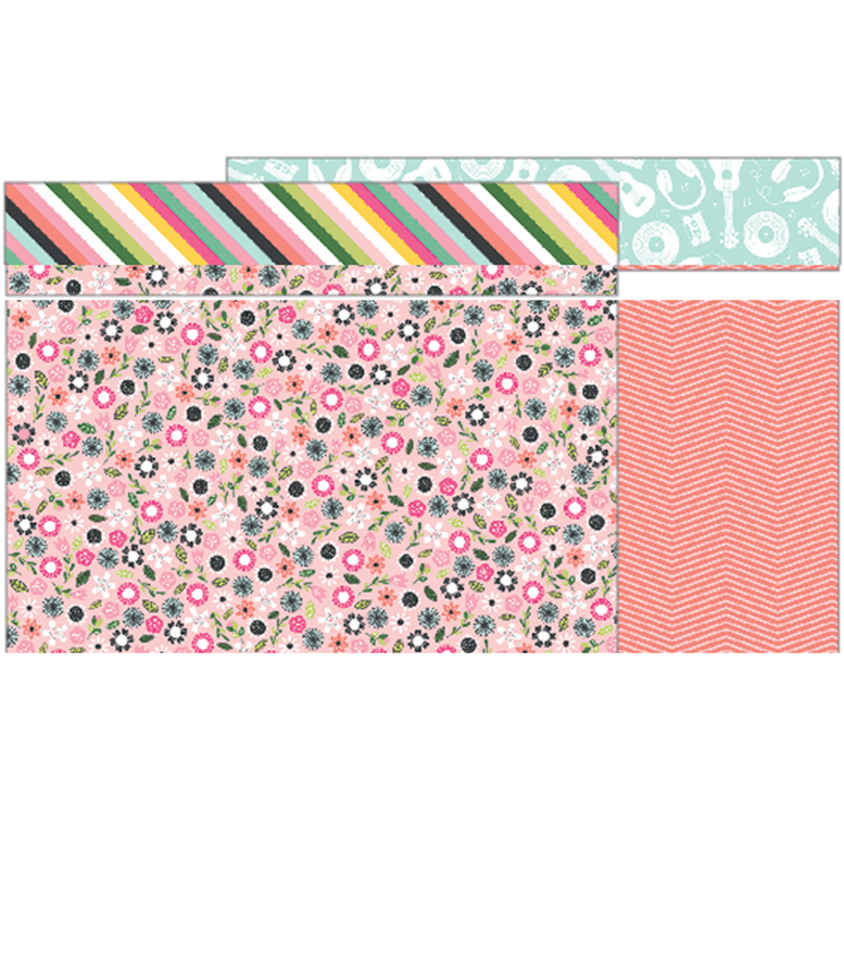 Girl Squad Double-Sided Cardstock 12\u0022X12\u0022-Good Vibes