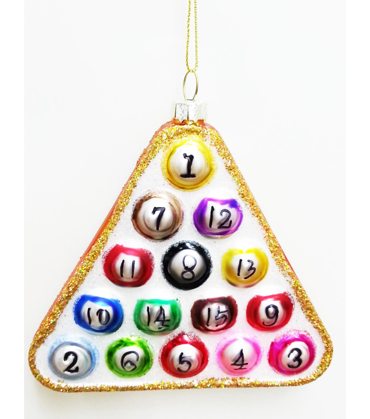 Maker\u0027s Holiday Pool Game Ornament