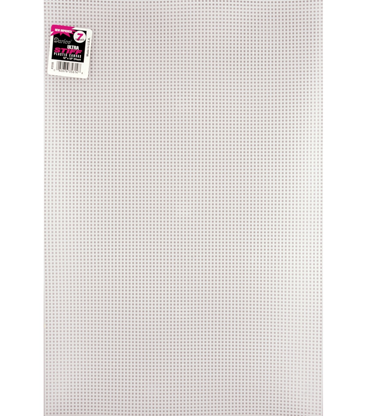 Darice Stiff Plastic Canvas Clear