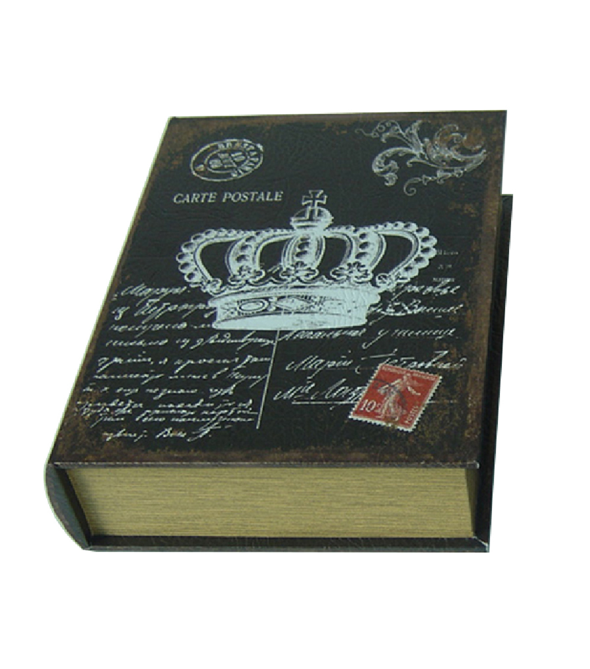 Maker\u0027s Halloween Large Wood Spooky Book Container