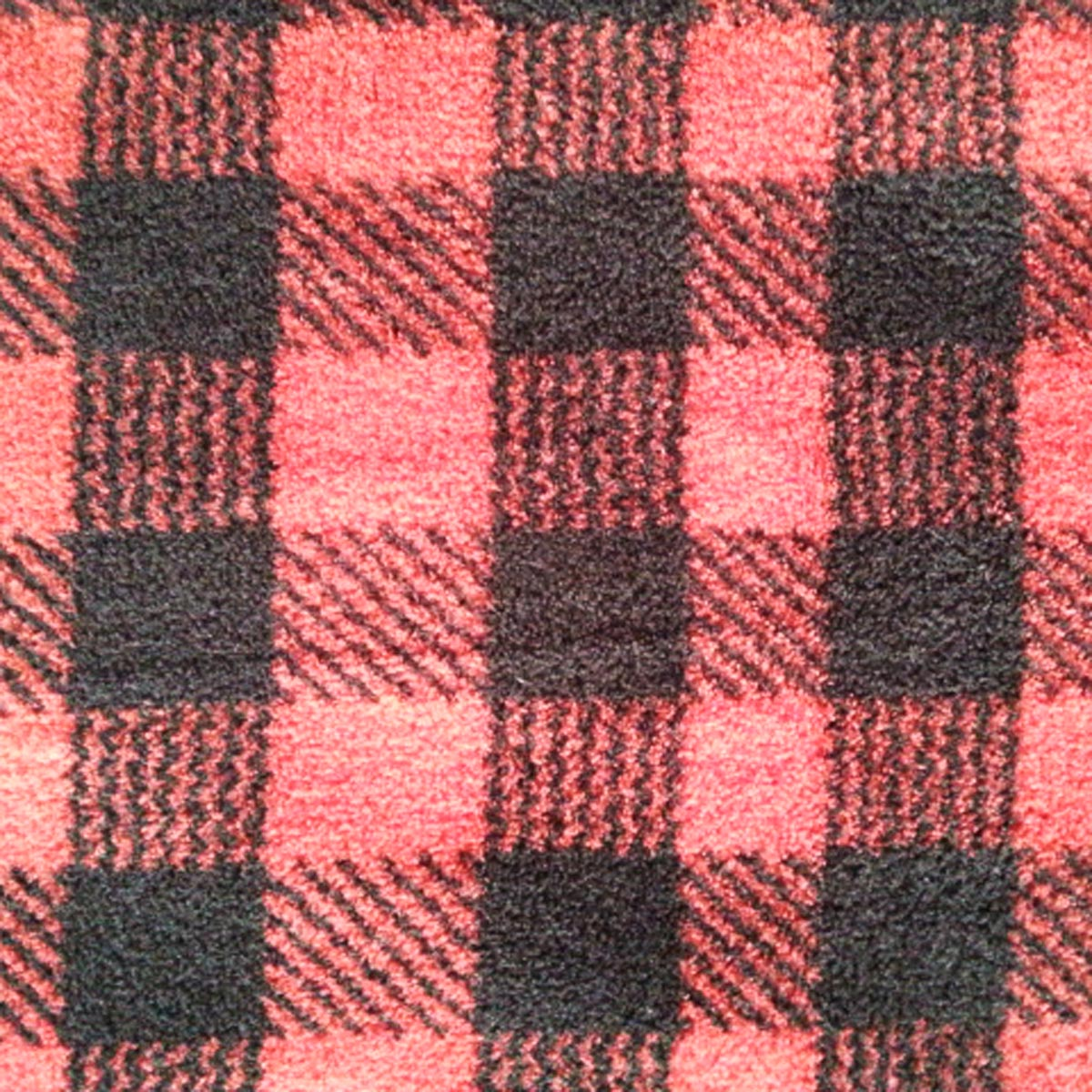 "Ultra Fluffy Fleece Fabric 57""-Red And Black Buffalo Plaid"