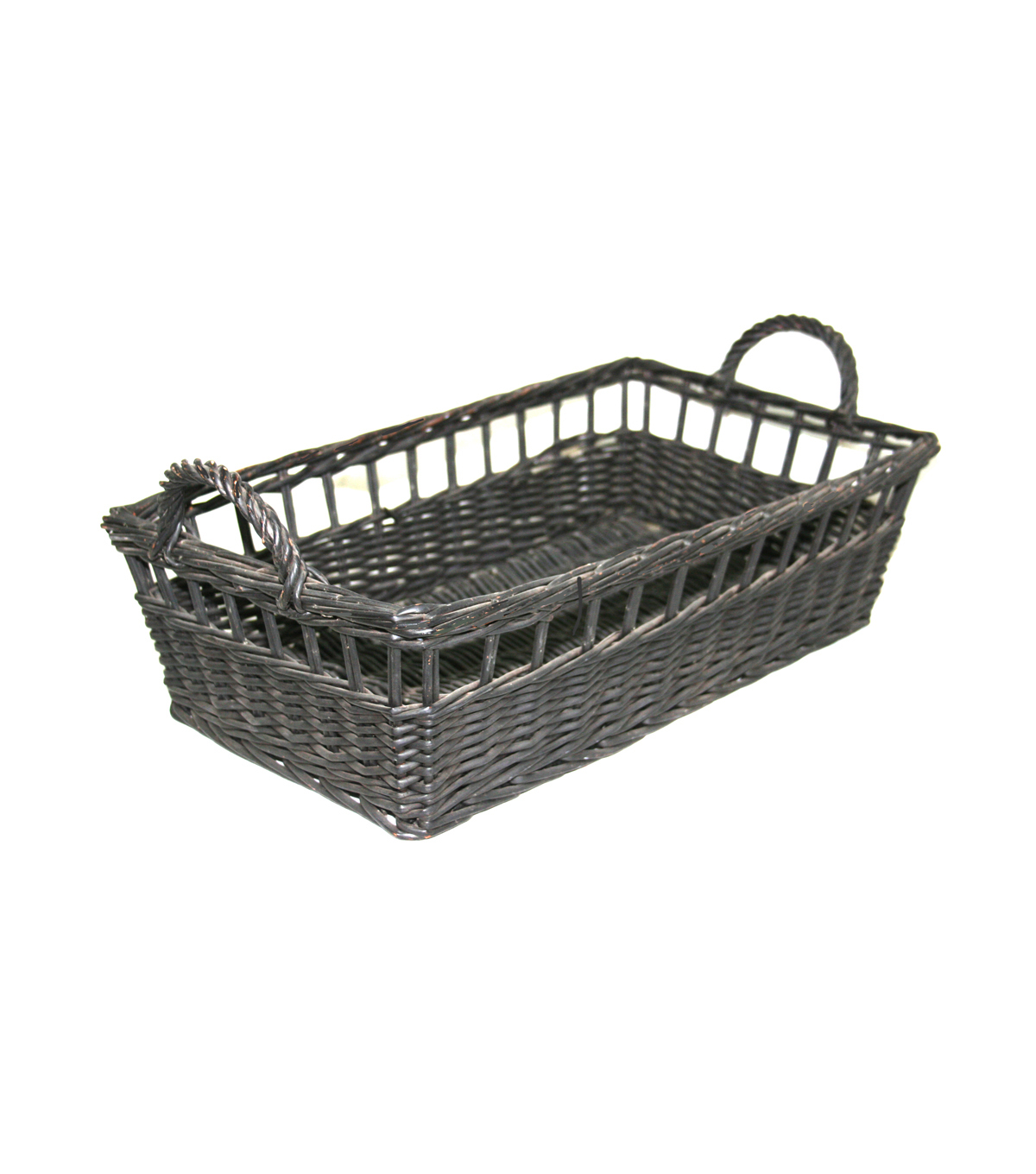 Organizing Essentials™ Rectangle Willow Basket-Open Weave